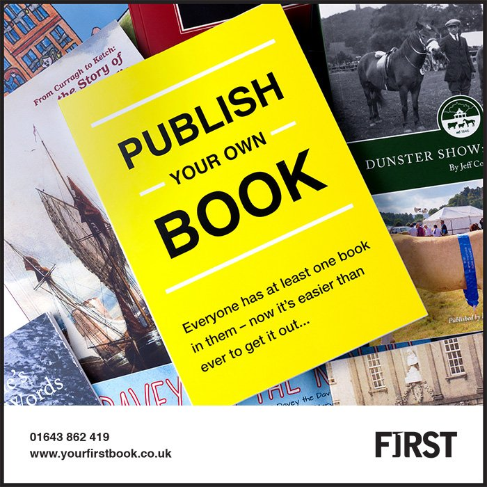 First Self Publish Book Exmoor Magazine MLF - Support Us