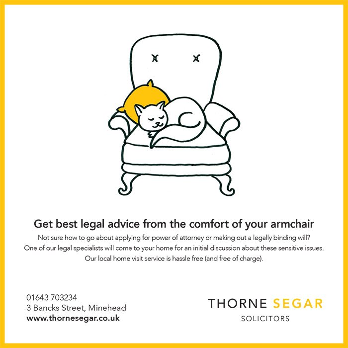 Thorne Segar comfort of your armchair cat ad MLF - Support Us