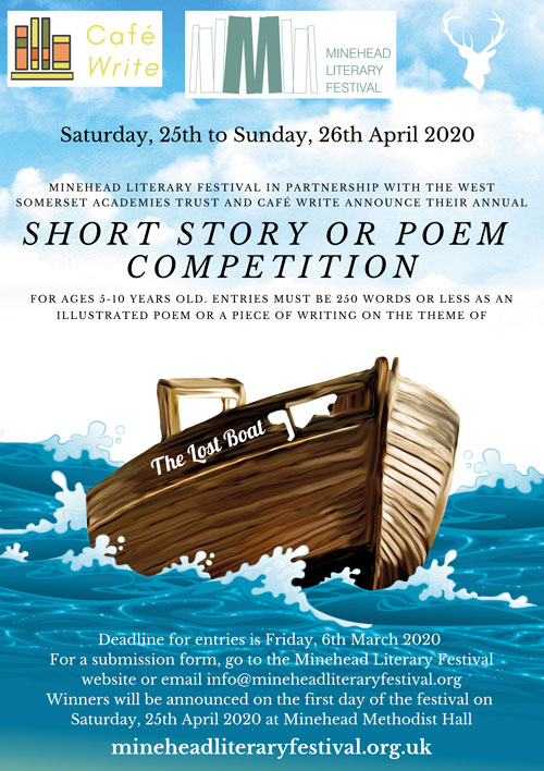 MLF Short Story Competition Poster BOAT - Short Story Competition