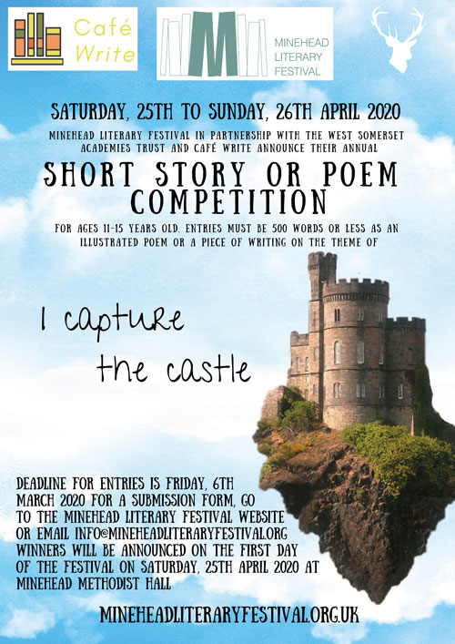 MLF Short Story Competition Poster CASTLE2 - Short Story Competition