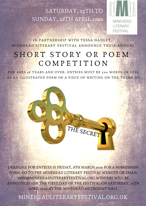 MLF Short Story Competition Poster SECRET - Short Story Competition